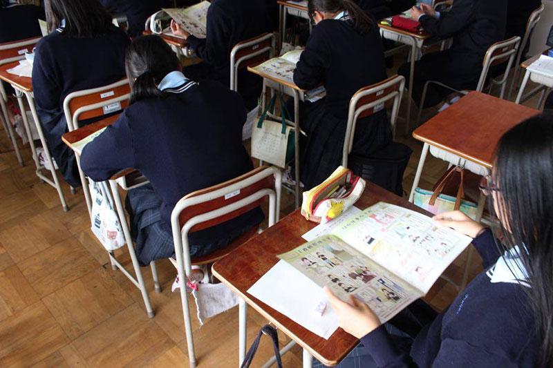 中学生体験学習